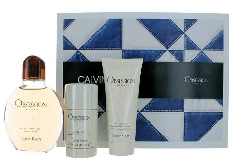 Obsession by Calvin Klein 3pc Gift Set For Men