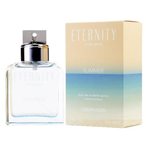 Eternity Summer 2019 Edition by Calvin Klein 3.4 oz EDT for Men