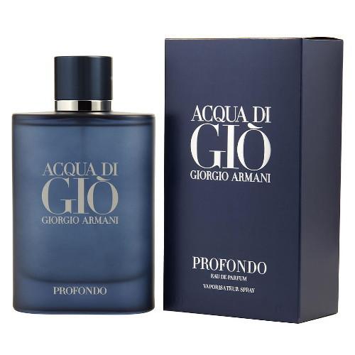 Acqua Di Gio Profondo by Giorgio Armani 4.2 oz EDP Spray for men