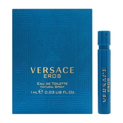 Versace Eros by Versace EDT Vial for Men
