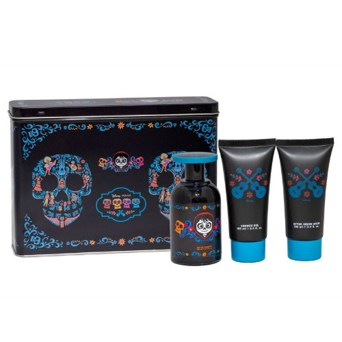 Coco by Disney Pixar 3pc Gift Set EDT 3.4 oz + Shower Gel 3.4 oz + After Shave Balm 3.4 oz for Men