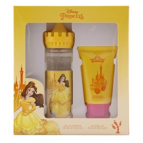 Princess Belle Castle by Disney 2pc Gift Set EDT 3.4 oz + Shower Gel 2.55 oz for Girls