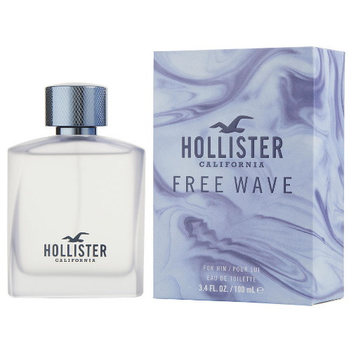 Free Wave by Hollister 3.4 oz EDT for Men