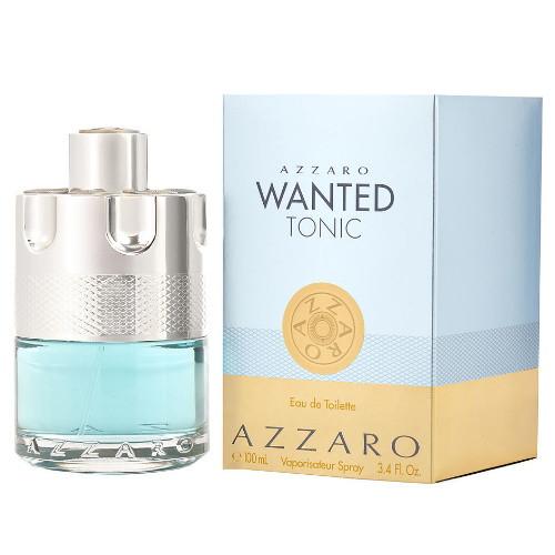 Azzaro Wanted Tonic by Azzaro EDT 3.4 oz for Men