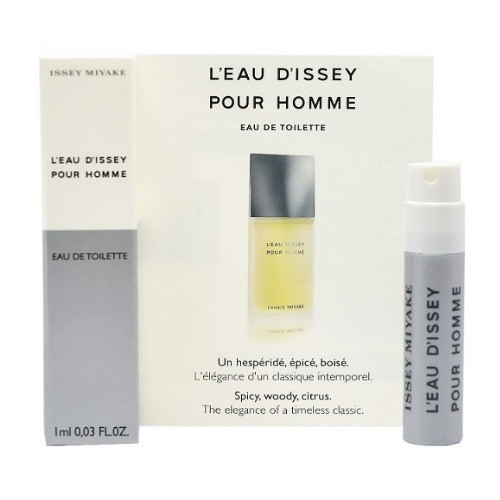 L'eau D'Issey by Issey Miyake 0.03 oz EDT Vial for Men