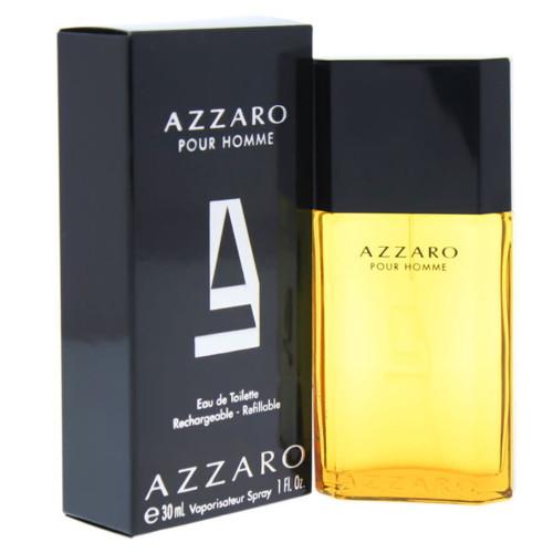 Azzaro Pour Homme by Azzaro 1 oz Rechargeable EDT for Men