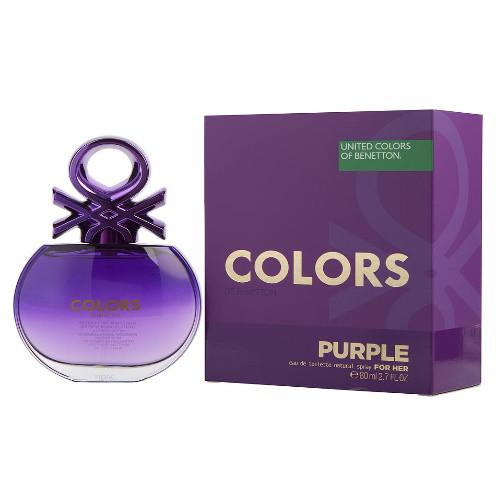 Colors de Benetton Purple by Benetton 2.7 oz EDT for women
