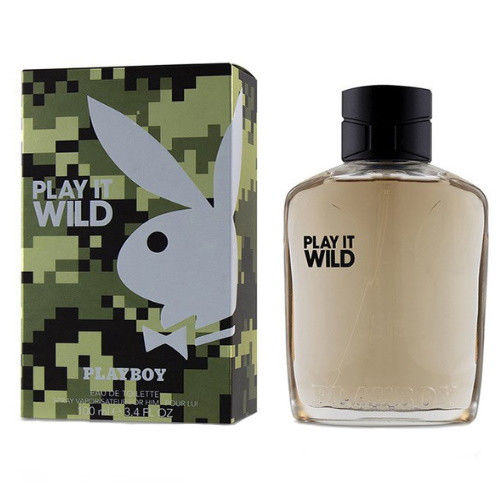 Play it Wild by Playboy 3.4 oz EDT for Men