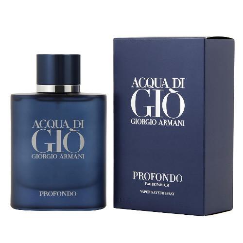 Acqua Di Gio Profondo by Giorgio Armani 2.5 oz EDP for Men