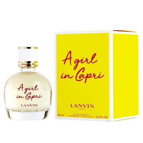 A girl in Capri by Lanvin 3 oz EDT for Women