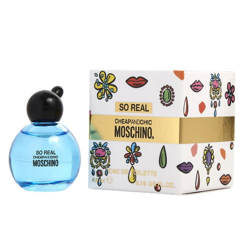 Moschino Cheap & Chic So Real 0.16 oz EDT Mini for Women