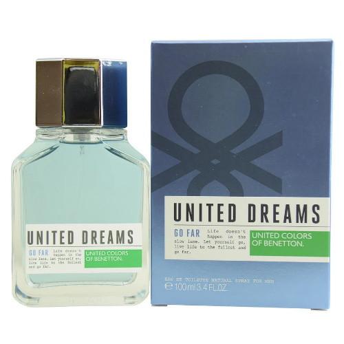 United Dreams Go Far by Benetton 3.4 oz EDT for Men