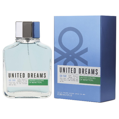 United Dreams Go Far by Benetton 6.75 oz EDT for Men