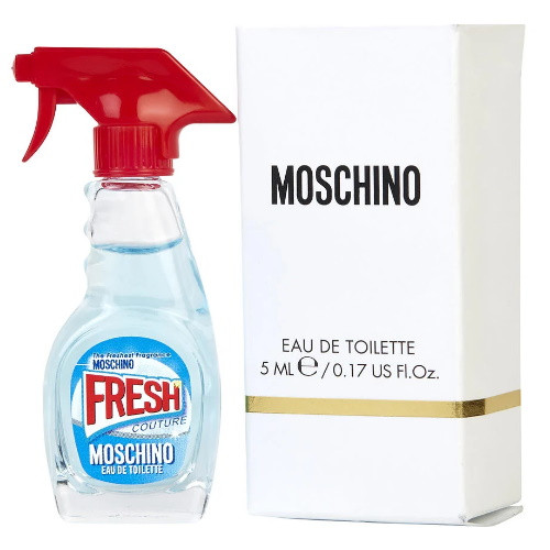 Fresh Couture by Moschino 0.17 oz EDT Mini for Women