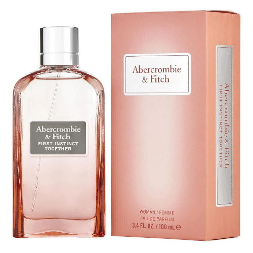 First Instinct Together by Abercrombie & Fitch 3.4 oz EDP for Women
