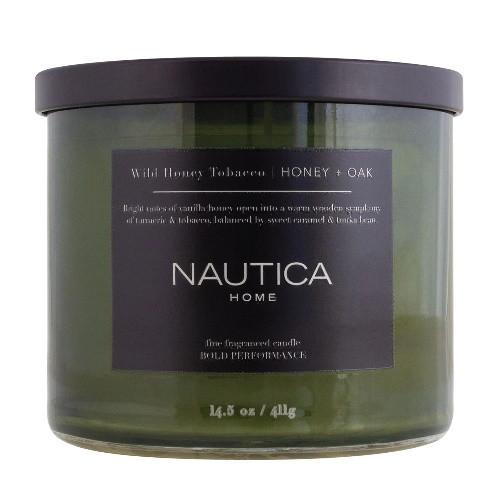 Wild Honey Tobacco by Nautica 14.5 oz Candle