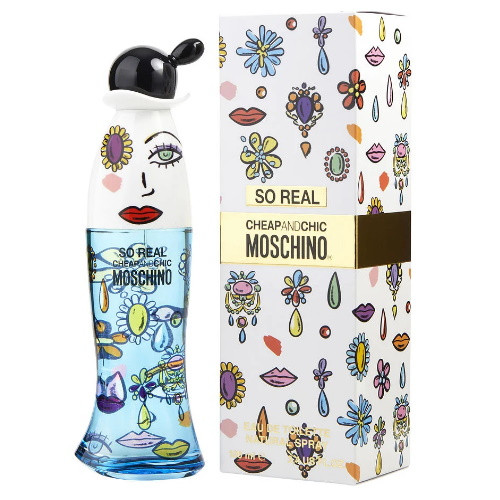Cheap & Chic So Real by Moschino 3.4 oz EDT for Women