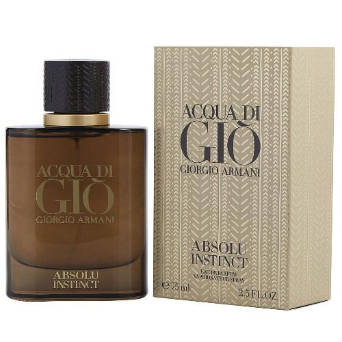 Acqua Di Gio Absolu Instinct by Giorgio Armani 2.5 oz EDP for Men