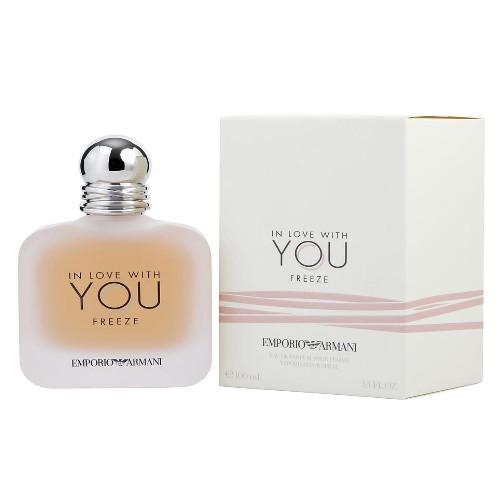 Emporio Armani In Love with You Freeze by Giorgio Armani 3.4 oz EDP for Women