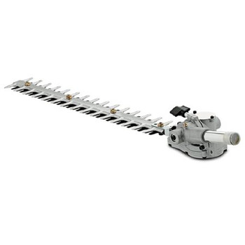High reach pole hedge trimmer attachment for combi products