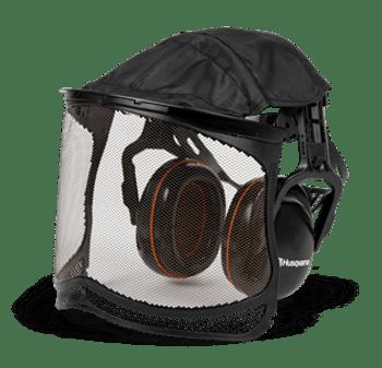 Husqvarna Premium Earmuffs with Ultra Vision Mesh Visor  598750101