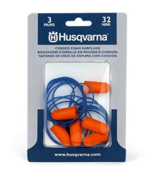 Husqvarna Ear Plugs 3 Pairs - Corded 589493001