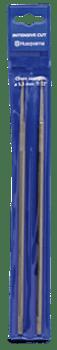 "Husqvarna Round File - 4.8mm (3/16"") 3-File Pack 597355801"