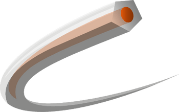 Husqvarna CoreCut - Penta 3,3mm x 120m Spool Orange/Translucent 597669240