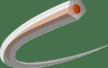 Husqvarna CoreCut - Penta 3,3mm x 240m Spool Orange/Translucent 597669241