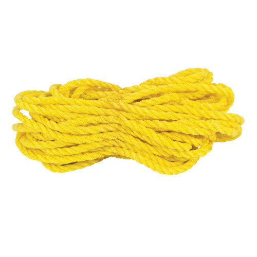 """3/4"""" POLY ROPE YELLOW"""