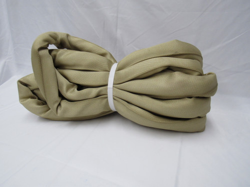 SWG 120 X 4' TAN ROUND SLING***MADE IN USA