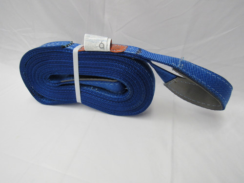 """WEB SLING DP 4"""" X 8'***MADE IN USA  *** LINED EYES ***"""