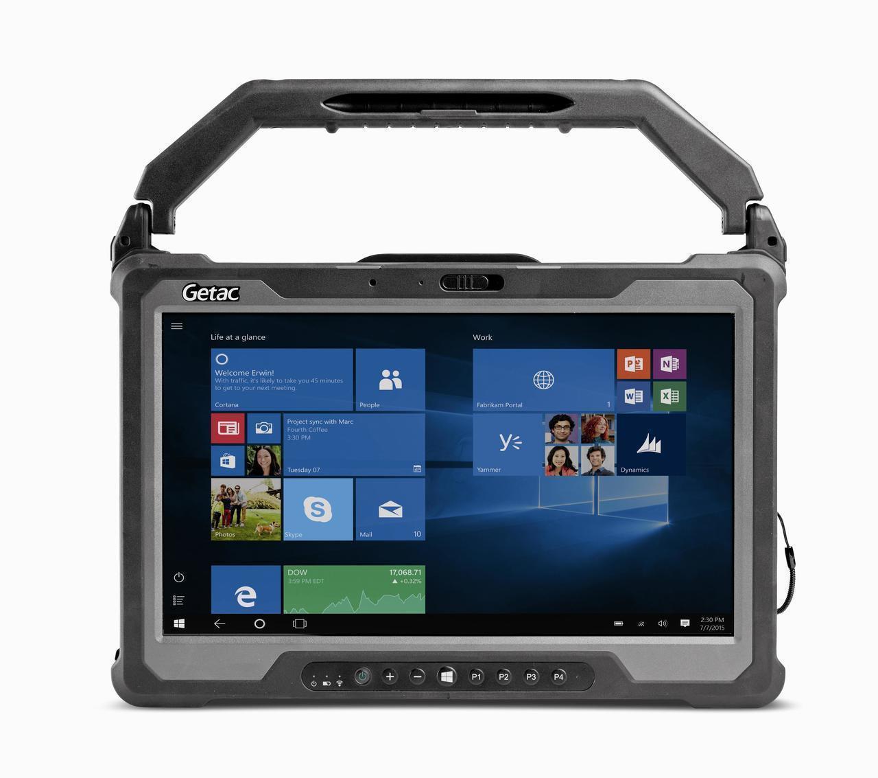 Getac A140 LTE,Intel Core i5-6200U Processor 2.3GHz,W/ Webcam,Win10Pro x64 with 16GB RAM ,256GB SSD,Sunlight Readable (HD IPS+Touch) 8M Rear Camera + 1D/2D Imager barcode reader,Wifi+BT+GPS+4G LTE (EM7511) + Pass-through,MicroSD,LANx2,Smart Card read