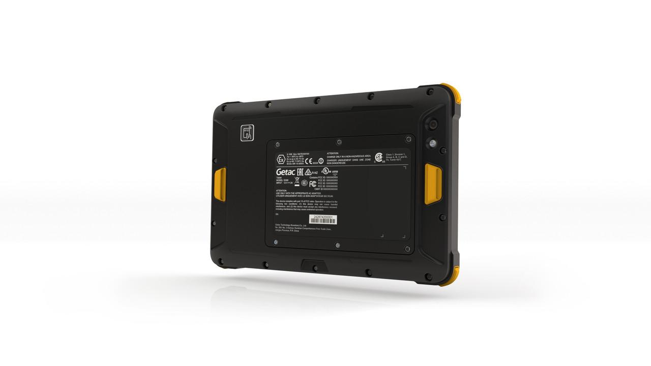 Getac EX80,Intel Atom x5-Z8350,W/Webcam,Win10 Pro x64 w/4GB RAM,128GB eMMc,Sun Readable LCD+Touchscreen,US/EU/UK/CN/A Power Cord,8M Rear Camera,BT/Wi-Fi/GPS, Hand strap w/kick stand, Capacitive stylus and stylus holder, Office dock with AC adapter