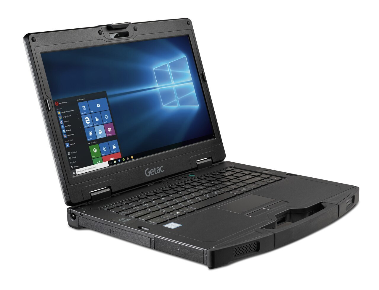 """Getac S410 G2 Basic,Intel Core i5-8250U Processor 1.6GHz, 14"""",Microsoft Windows 10 Pro x64 with 8GB RAM,256GB SSD,STD LCD,US KBD+US Power cord,Membrane KBD,Wifi+BT,SD Card Reader, Low Temp -21°C, TPM 2.0, IP52"""