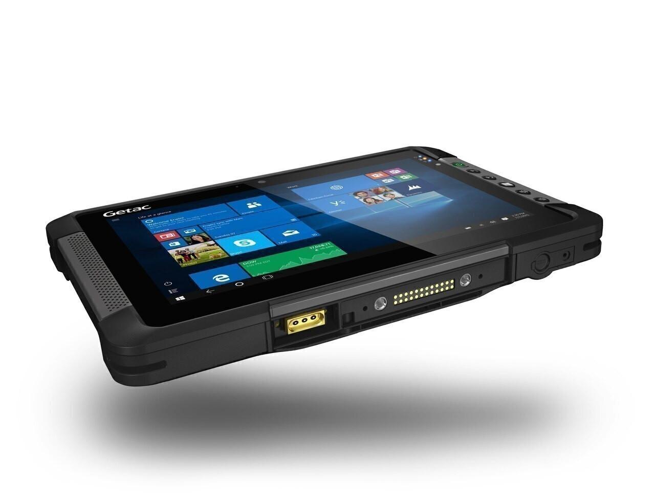 "Getac T800 G2 Premium USA,Intel Atom Processor x7-Z8750,8.1""+Webcam, Win10 Pro x64 with 8GB RAM ,128GB eMMC,Sunlight Readable (LCD+Touchscreen),US Power cord,8M Rear Camera,WIFI+ BT + GPS+ 4G LTE (US/EU) + Pass-through,Barcode Reader ,TPM 2.0"