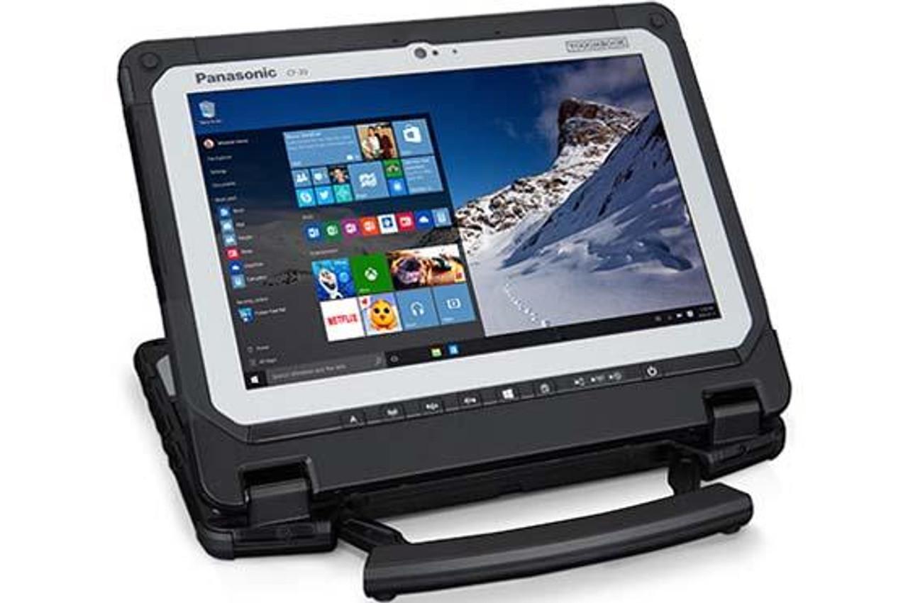 """Panasonic Toughbook 20, CF-20, 10.1"""", 1920 x 1200, m5-6Y57, 8GB DDR3L, 256GB SSD, Intel HD Graphics 515,Wi-Fi, Bluetooth,  HDMI, Dual Pass (WWAN/GPS), SmartCard Reader, 8MP, Bridge Battery, Emissive Backlit Keyboard, GPS, Windows 10 Pro"""