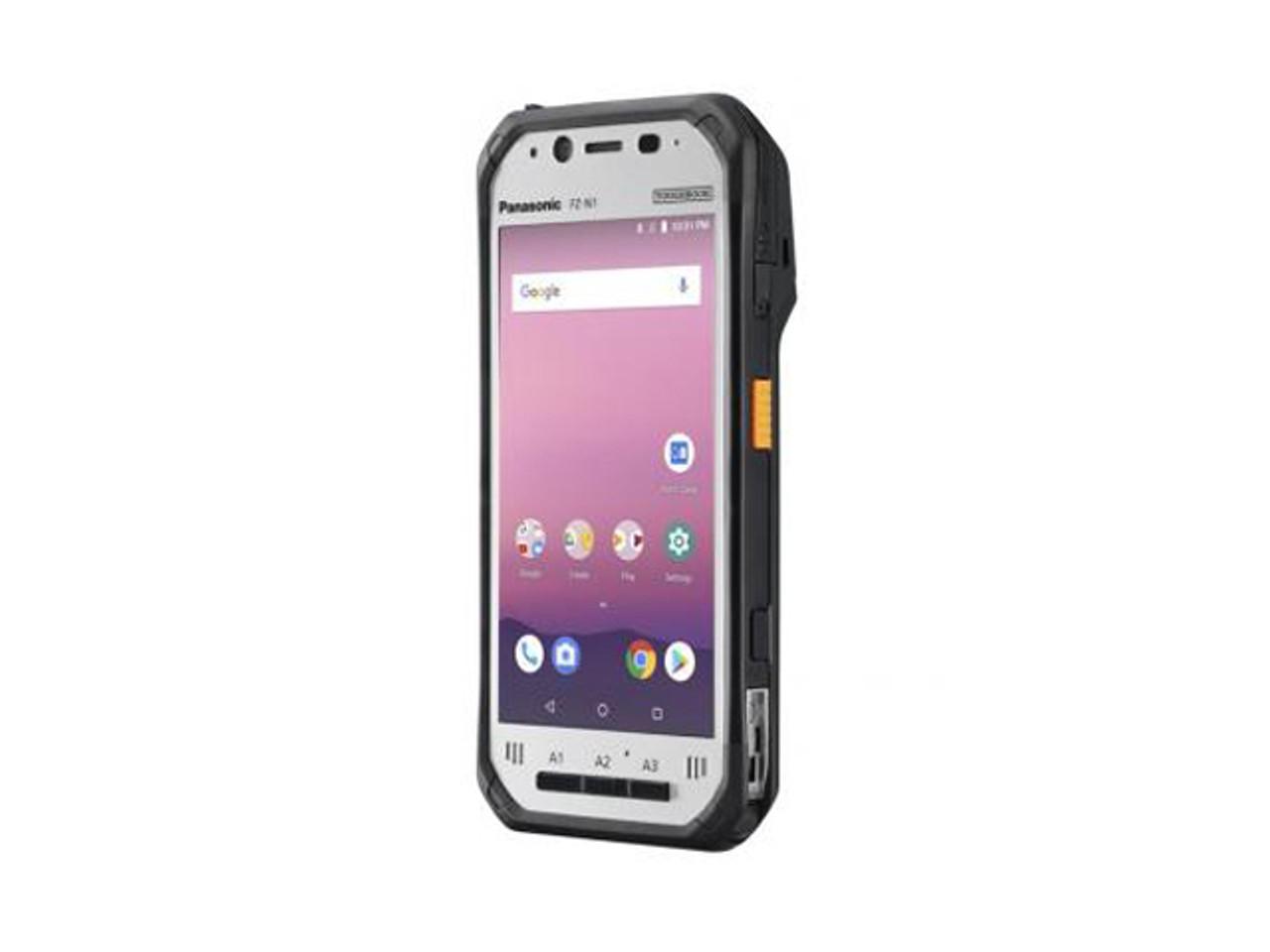 "Panasonic FZ-N1, 4.7"" HD Gloved Multi-Touch, Qualcomm Snapdragon msm8974ab (2.3GHz, Quad-Core), 2GB, 16GB, WiFi , Bluetooth, 4G LTE AT&T/VERIZON micro(Voice/Data) , Webcam, 8MP cam, NFC, 2D Bar (se4750), no drive - FZ-N1ABCAZZM"
