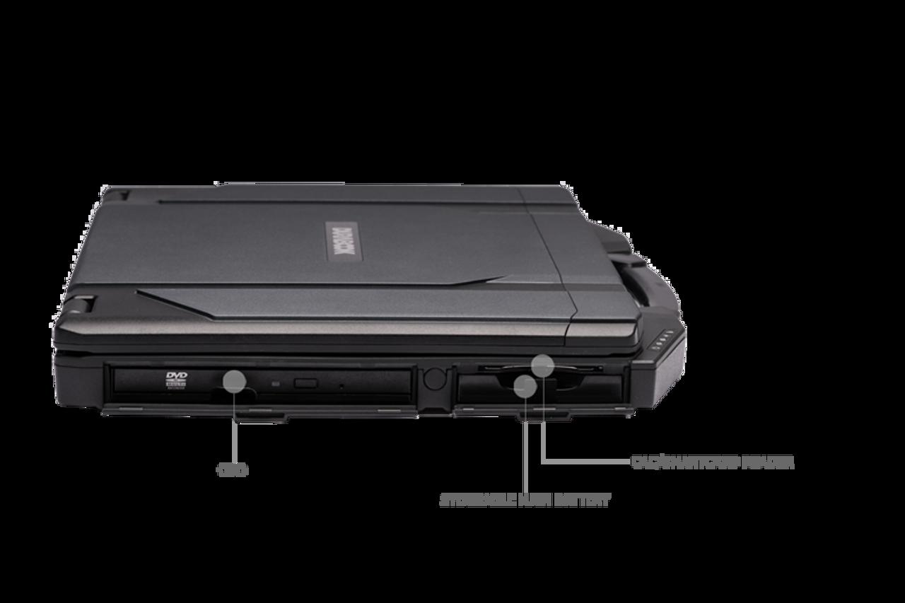 """Durabook S14 Standard, 14"""" FHD (1920 x1080) Standard Display, Intel® Core™ i5-8250U Processor 1.6GHz - 3.40 GHz, Win10 Pro, 8GB RAM, 256GB SSD, Wireless, Bluetooth 5.0, 2MP Front Camera, HDMI, VGA, RS232, Smart Card, SD Card Reader, IP53, 3-Year Warr"""