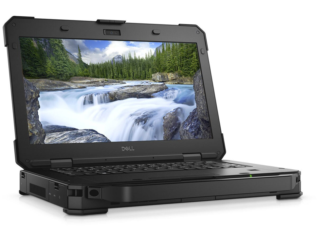 """Dell Latitude  5424 Rugged laptop,  14"""" FHD ( 1920 x 1080 )Touch, Intel® Core™ i5-8350U vPro™ (6MB, 1.70 GHz, 4-Core), M.2 256GB PCIe NVMe, 8GB DDR4, Webcam, Wi-fi, Bluetooth, Windows 10 Professional, Dell Warranty until January 17, 2024"""