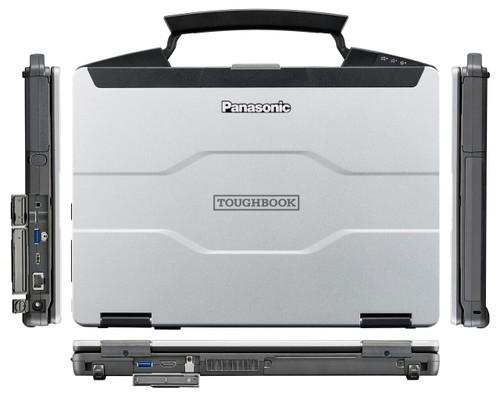 Panasonic Toughbook 55, FZ-55 sides