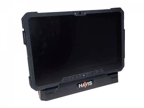 """Low Profile Fixed Docking Solution for Dell Latitude Rugged 12"""" Tablets (7212, 7220) with Screen Blanking MPN:  PKG-DS-DELL-701-Z1"""