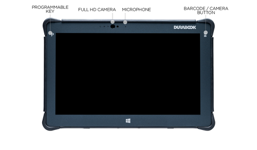 "Durabook R11(H6) Field, 11.6"" FHD (1920 x1080) Sunlight Readable 500 nits Touchscreen, Intel® Core ™ i5-8250U Processor 1.6GHz - 3.40 GHz, Win10 Pro, 8GB RAM, 128GB SSD, Bluetooth 5.0, GPS + 4G LTE, 2MP Front Camera, 5MP Rear Camera, 3-Year Warranty"