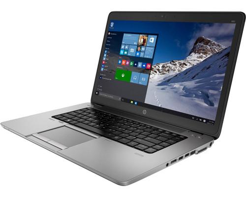 "HP EliteBook 850 G2 Laptop, 15.6"" HD Non-Touch, Intel Core i5-5200U 2.2Ghz, 8GB DDR3, 256GB SSD, Webcam, Wi-fi, Bluetooth, Windows 10 Professional 64-bit"