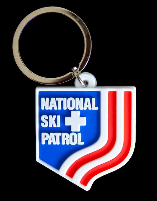 NSP Branded - NSP Shield Keychain