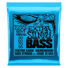 Ernie Ball 2835 Extra Slinky Nickel Wound Bass Guitar Strings 40-95