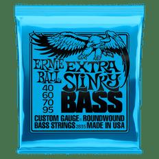 Ernie Ball 2835 Extra Slinky Nickel Wound Bass Guitar Strings 40-95
