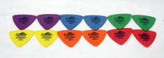 Dunlop Tortex Triangle Picks Variety Pack, 12 Picks Total