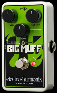 Electro-Harmonix Nano Bass Muff Distortion/Sustainer for Bass