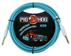 "Pig Hog ""Daphne Blue"" Instrument Cable, 10ft"